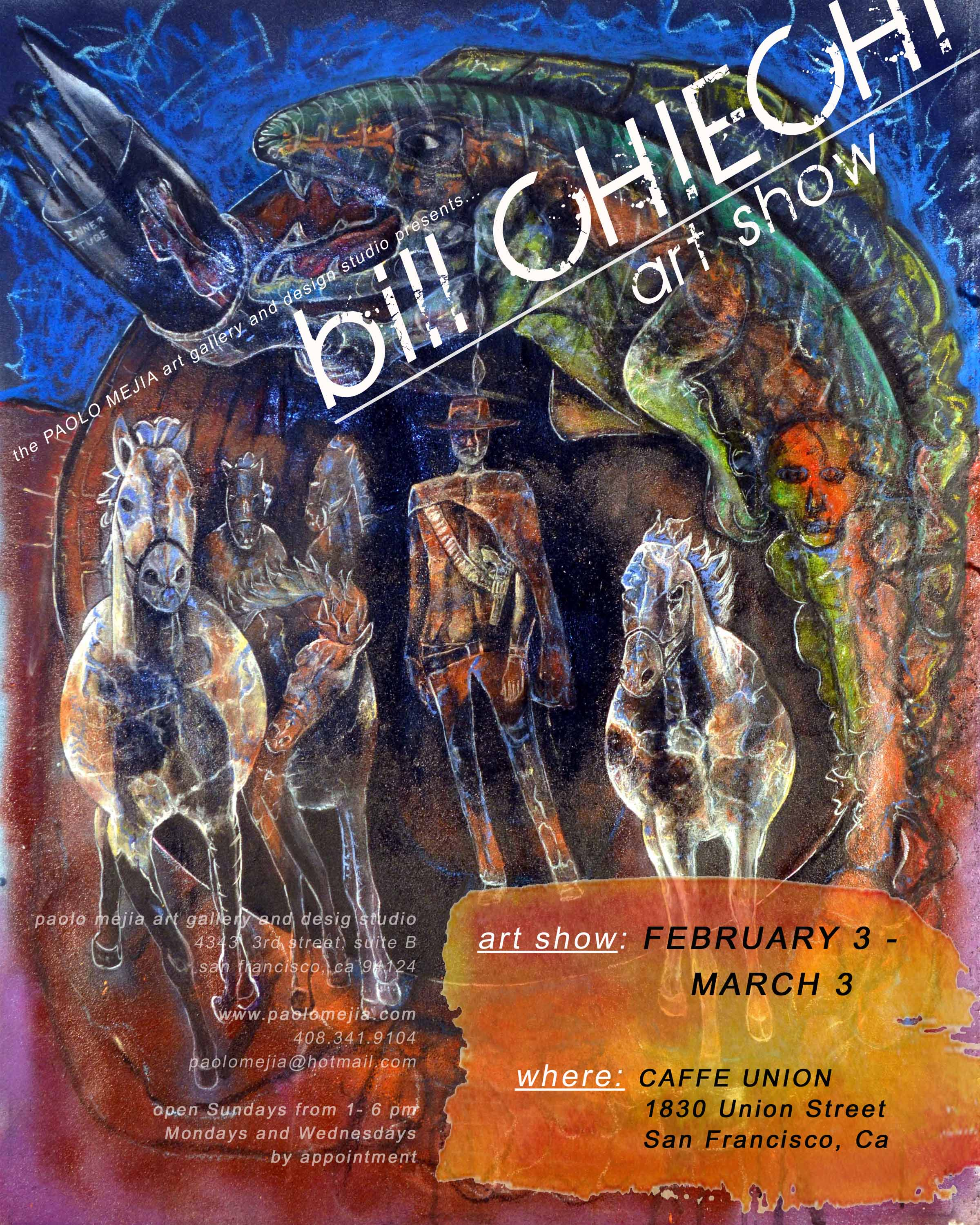 Bill Chiechi Flyer