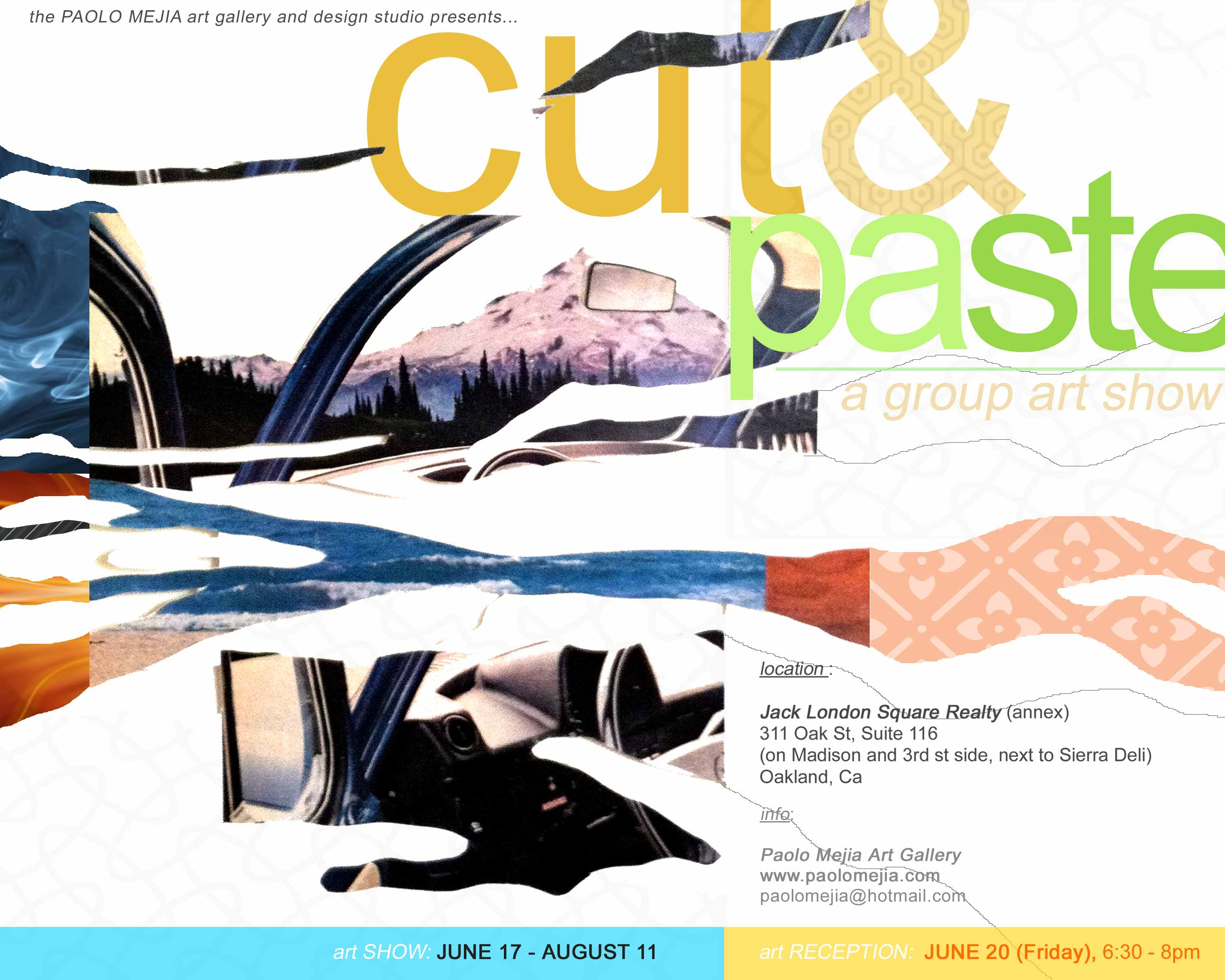 cut and paste flyer