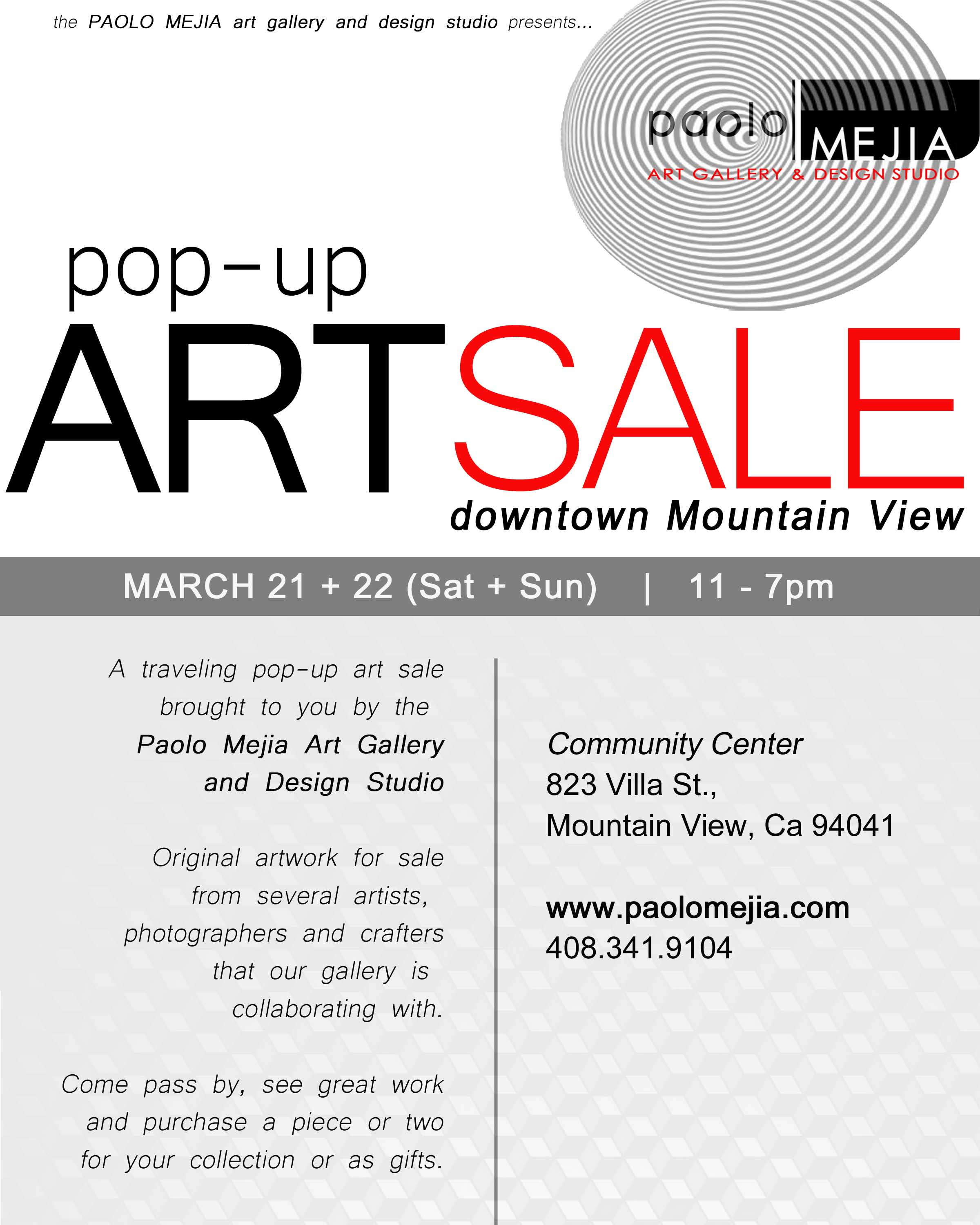 art sale - mt view